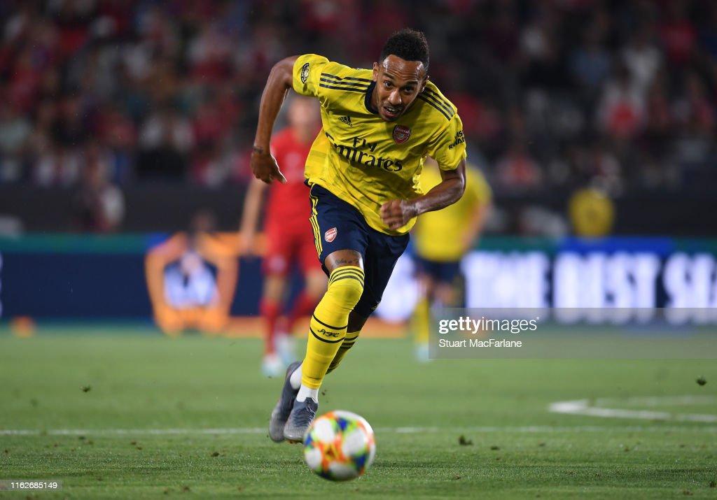 Arsenal v FC Bayern - 2019 International Champions Cup : ニュース写真