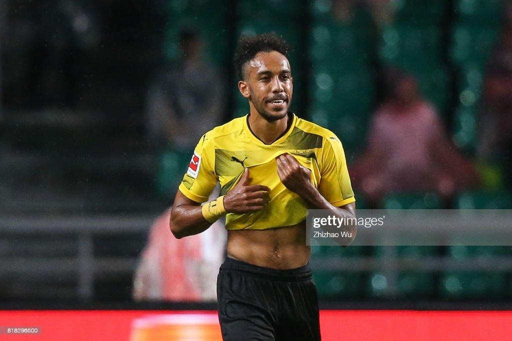 AC Milan v Borussia Dortmund - 2017 International Champions Cup China : Nyhetsfoto