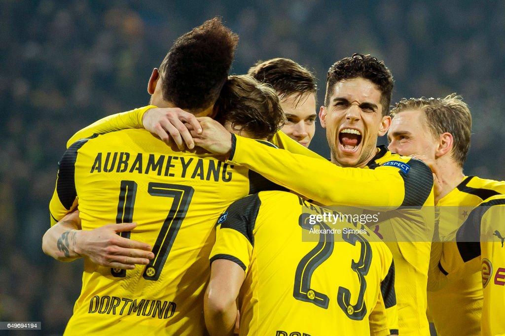 Borussia Dortmund v SL Benfica - UEFA Champions League Round of 16: Second Leg : News Photo
