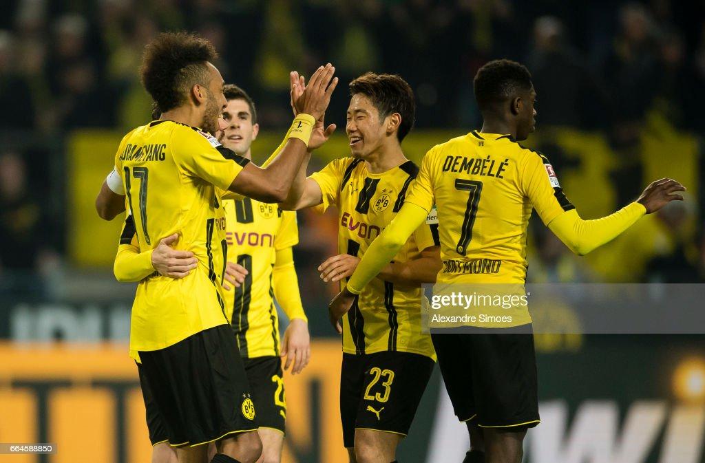 Borussia Dortmund v Hamburger SV - Bundesliga : Foto di attualità
