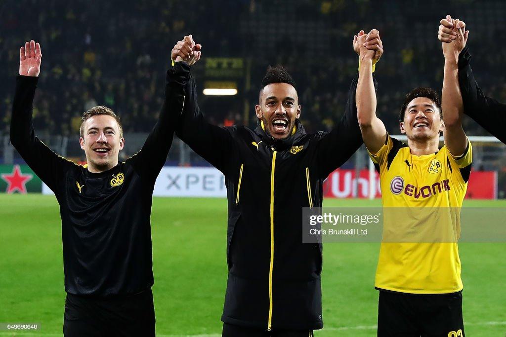 Borussia Dortmund v  SL Benfica - UEFA Champions League Round of 16: Second Leg
