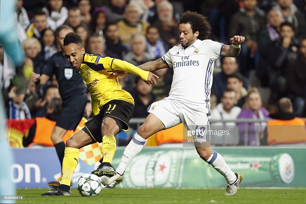 "UEFA Champions League""Real Madrid v Borussia Dortmund"" : ニュース写真"