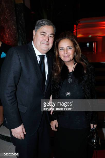 PierreFrancois Veil and his wife Barbara attend the Gala evening of the PasteurWeizmann Council at Salle Wagram on November 15 2018 in Paris France