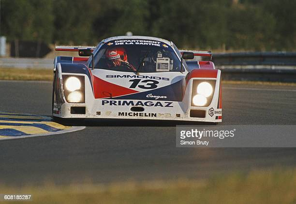 PierreHenri Raphanel of France drives the Primagaz Competition Cougar C20 Porsche turbo Flat6 during the FIA World Sportscar Championship 24 Hours of...