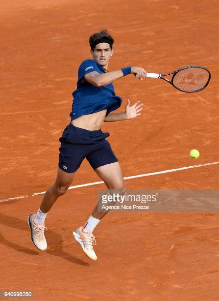 PierreHughes Herbert of France during the Monte Carlo Rolex Masters 1000 at Monte Carlo on April 16 2018 in Monaco Monaco