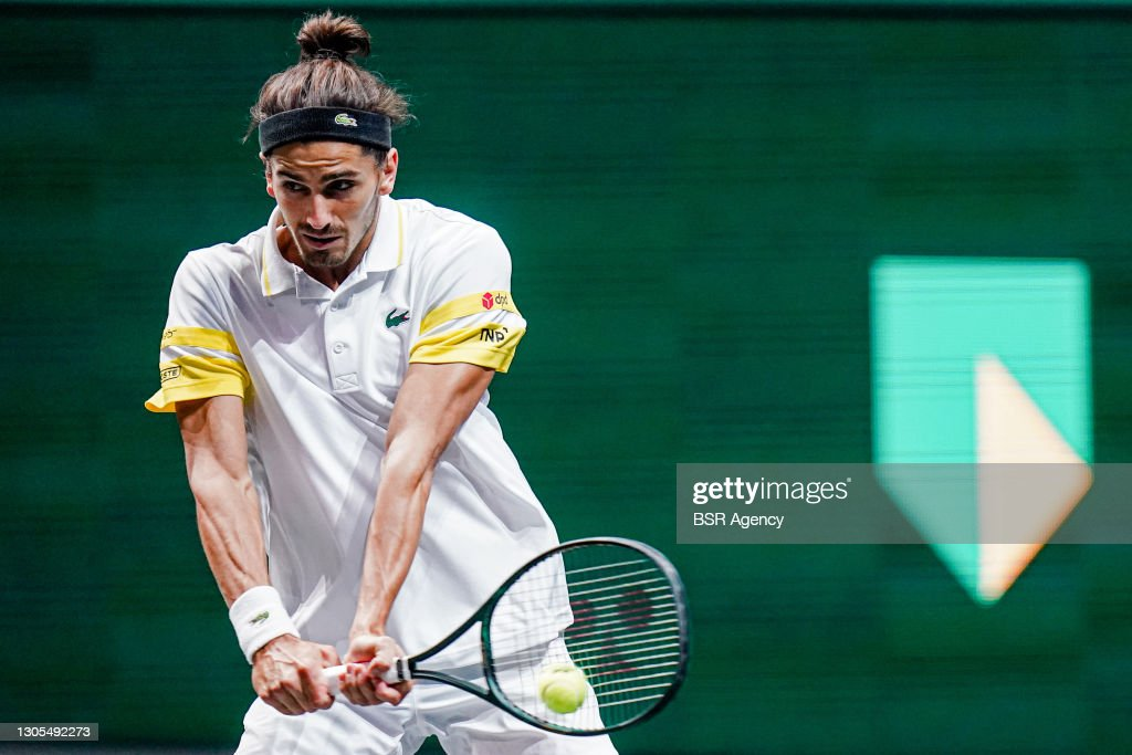 48th ABN AMRO World Tennis Tournament - Day 5 : News Photo