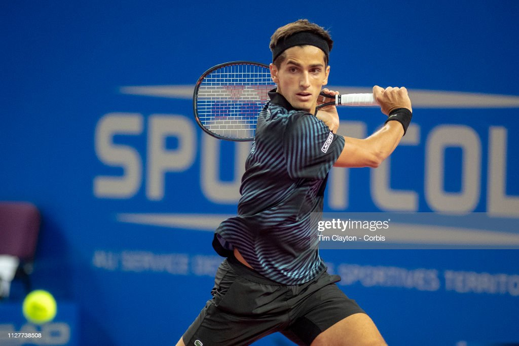 Open Sud de France. Tennis. : ニュース写真
