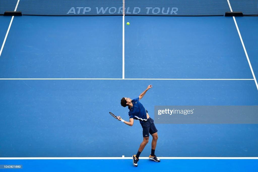 TOPSHOT-TENNIS-ATP-CHN : News Photo