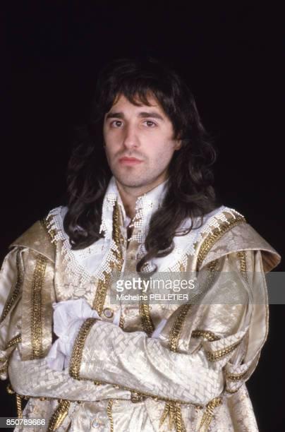 PierreLoup Rajot dans la pièce de théâtre 'L'Avare' mise en scène par Roger Planchon à Paris le 3 mars 1986 France