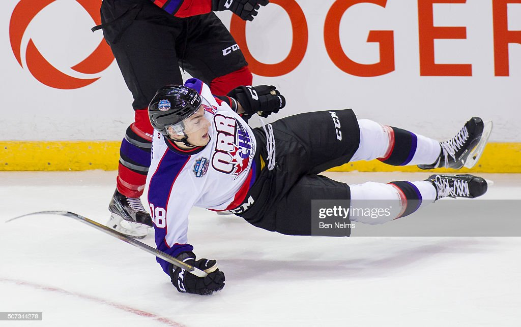 2016 CHL/NHL Top Prospects Game : News Photo