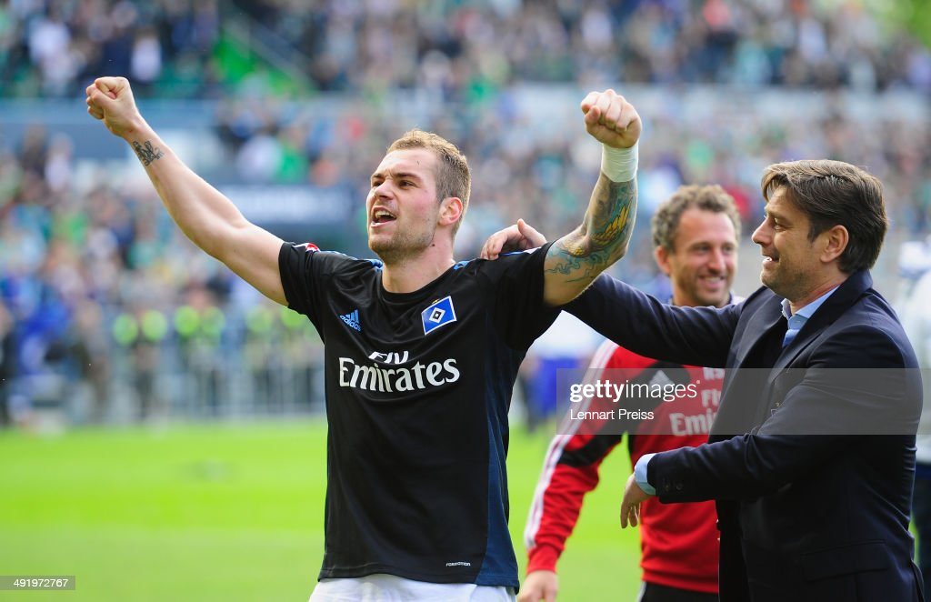 SpVgg Greuther Fuerth v Hamburger SV - Bundesliga Playoff Second Leg : News Photo