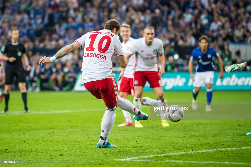 Pierre-Michel Lasogga scored many important goals for Hamburg, but injuries have also meant that he struggled to play consistently. (Photo by Lukas Schulze/Bongarts/Getty Images)