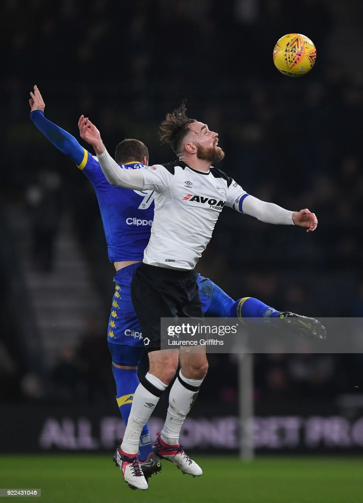 Derby County v Leeds United - Sky Bet Championship : News Photo