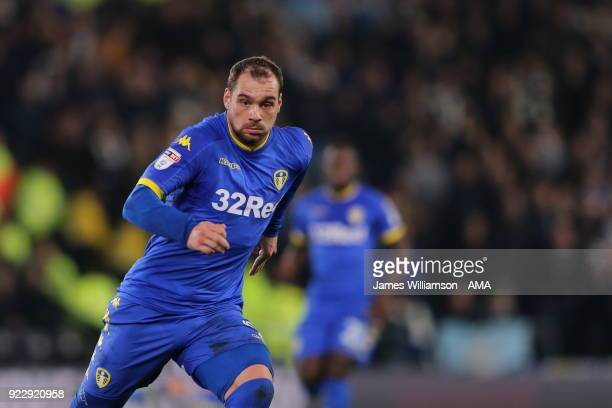 PierreMichel Lasogga of Leeds United during the Sky Bet Championship match between Derby County and Leeds United at iPro Stadium on February 20 2018...