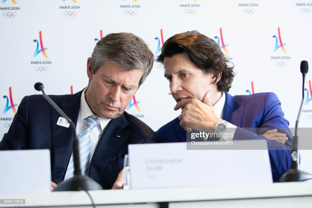 Signing of the Social Charter Of The 2024 Olympic Games In Paris