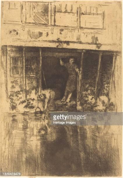 Pierrot, 1889. Artist James Abbott McNeill Whistler.