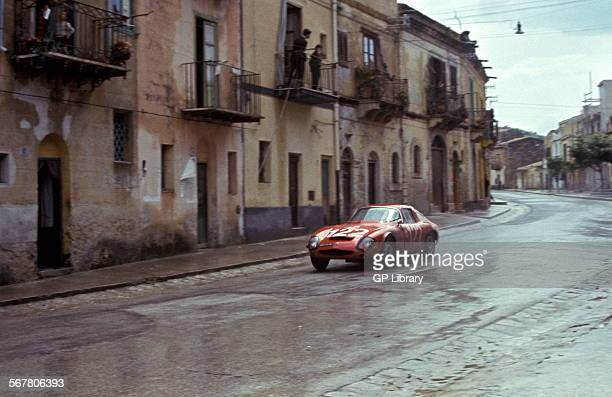 Pierrot lo PiccoloSalvatore Sutero's Alfa Romeo Giulia TZ finished 28th in the Targa Florio Sicily 8 May 1966