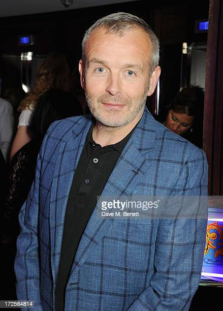 Piers Adam attends Christian Furr and Chris Bracey 'Staying Alive' Private View at 45 Park Lane on July 3 2013 in London England