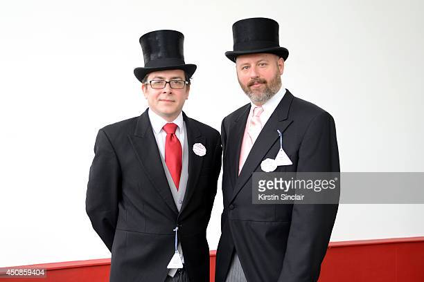 Piers Atkinson and Noel Stewart attend day three of Royal Ascot at Ascot Racecourse on June 19 2014 in Ascot England