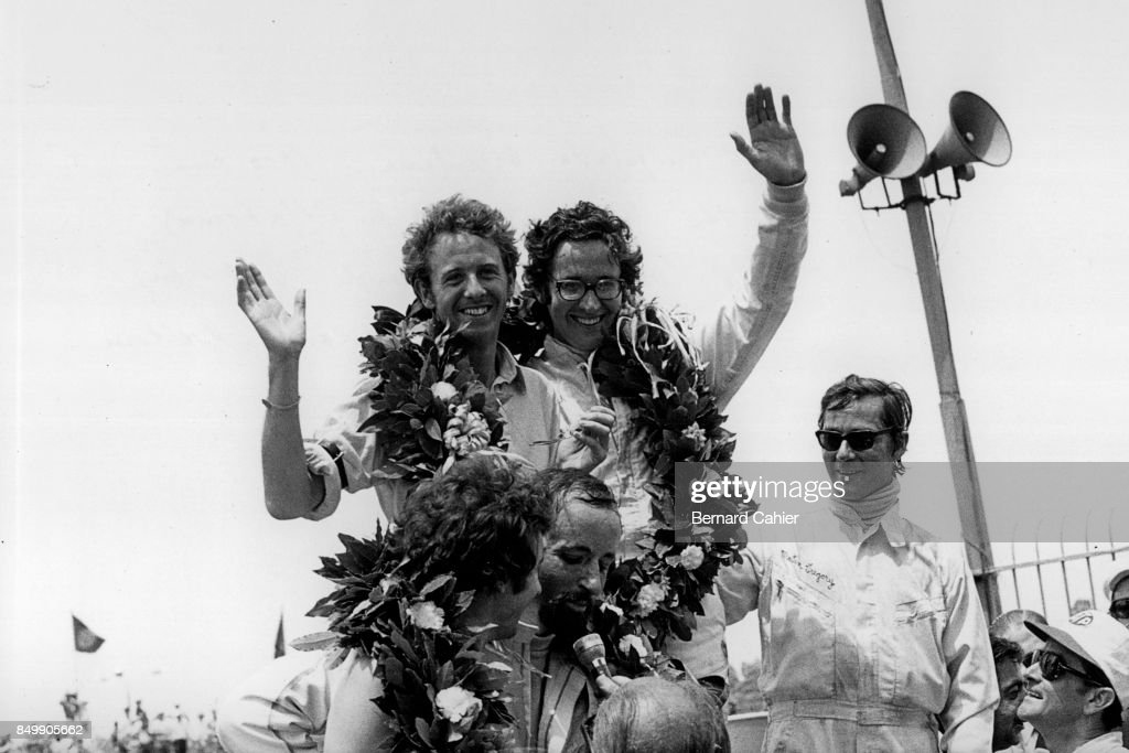 Courage, de Adamich, & Others, 200 mile Buenos Aires : News Photo