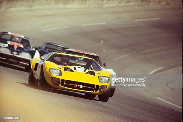 Piers Forester Andrew Hedges drive their Ford GT40