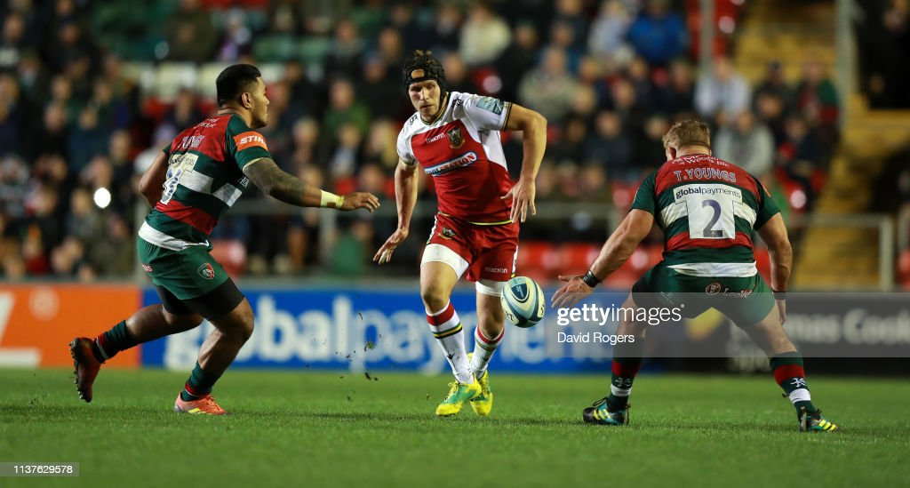 Leicester Tigers v Northampton Saints - Gallagher Premiership Rugby : News Photo