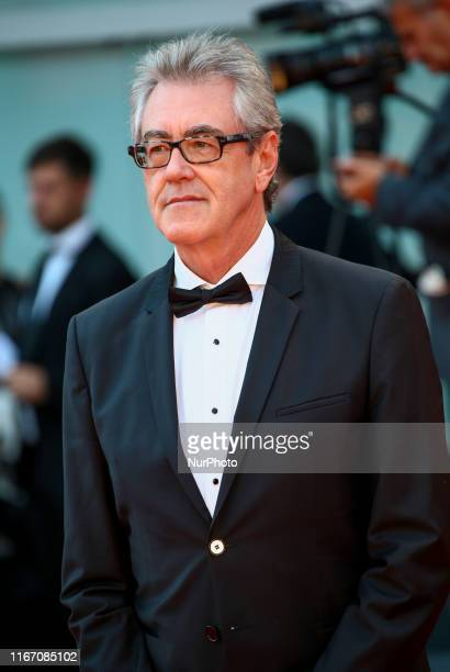 Piers Handling walks the red carpet ahead of the closing ceremony of the 76th Venice Film Festival at Sala Grande on September 07 2019 in Venice Italy