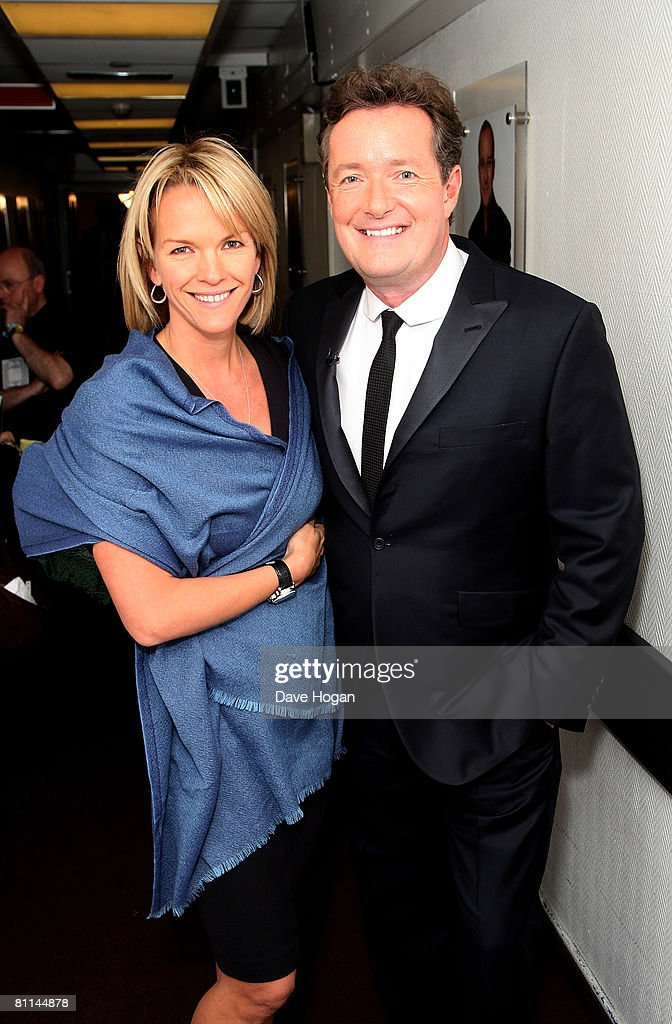Piers Morgan and Elizabeth Murdoch arrive at the Britain's Best 2008 awards at London Television Studios on May 18, 2008 in London, England. The award ceremony honours outstanding Britons in categories including business, art, television, music, film, sport and fashion.