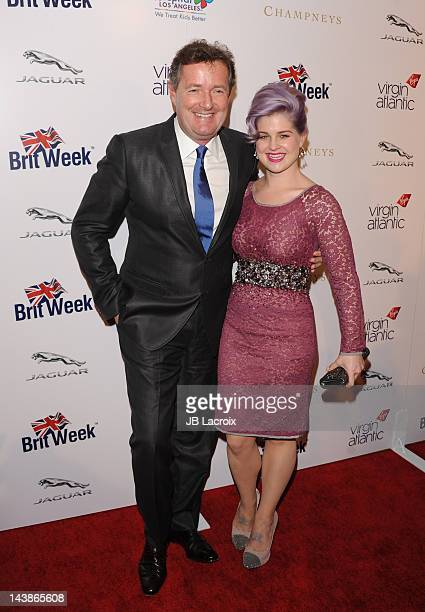 Piers Morgan and Kelly Osbourne attend Britweek 2012 Gala Hosted By Piers Morgan Benefiting Children's Hospital Los Angeles at the Beverly Wilshire...