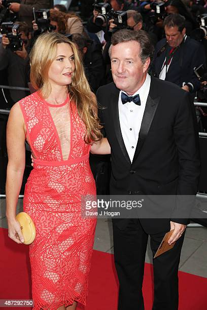 Piers Morgan and wife Celia Walden attend the GQ Men Of The Year Awards at The Royal Opera House on September 8, 2015 in London, England.