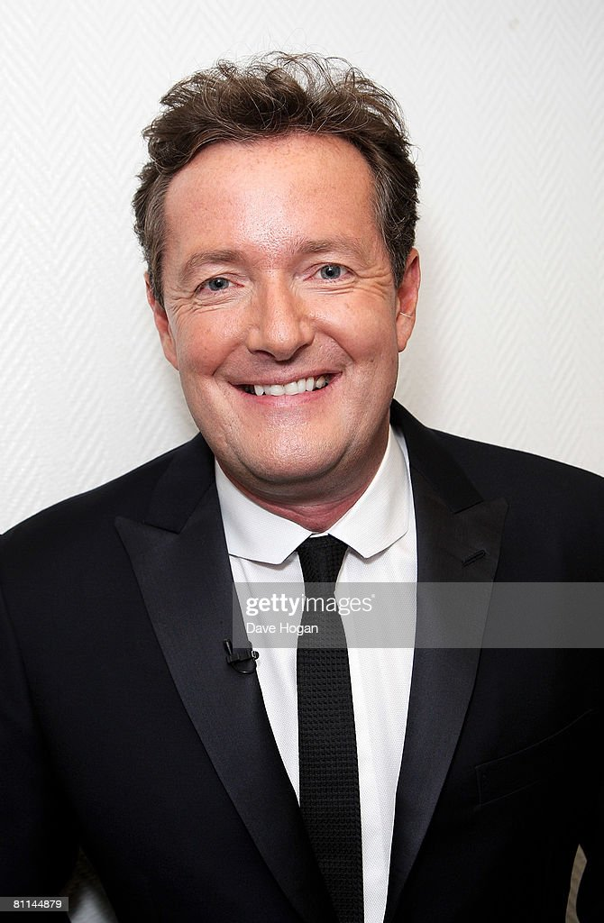 Piers Morgan arrives at the Britain's Best 2008 awards at London Television Studios on May 18, 2008 in London, England. The award ceremony honours outstanding Britons in categories including business, art, television, music, film, sport and fashion.