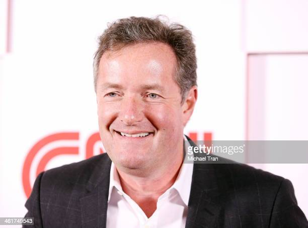 Piers Morgan arrives at the CNN Worldwide AllStar 2014 Winter TCA party held at Langham Huntington Hotel on January 10 2014 in Pasadena California