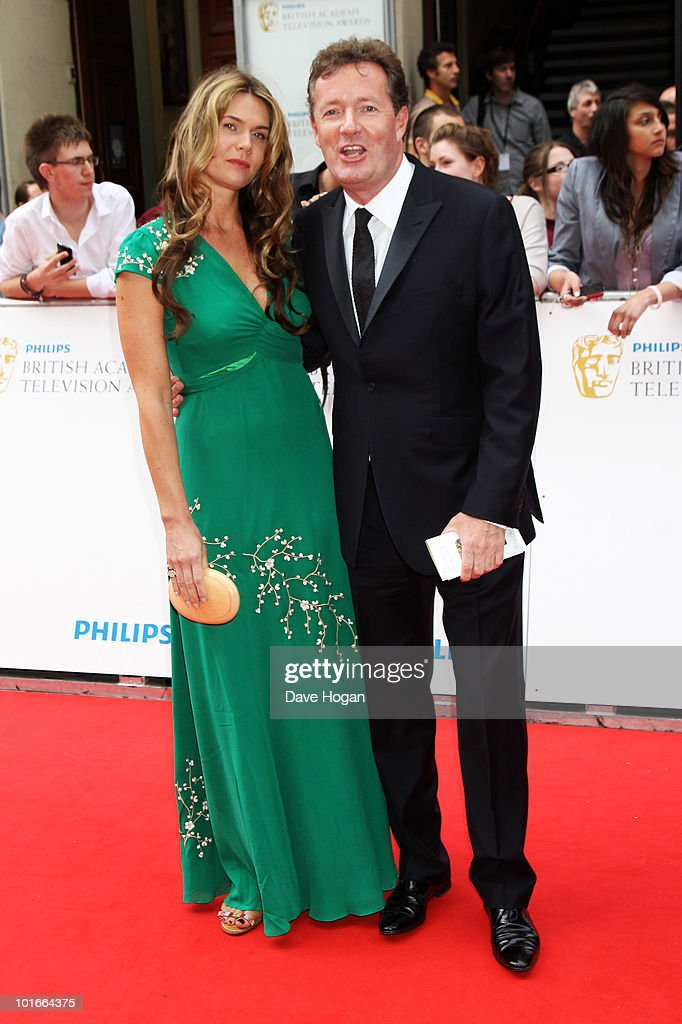 Piers Morgan arrives at The Philips British Academy Television Awards held at The Palladium on June 6, 2010 in London, England.