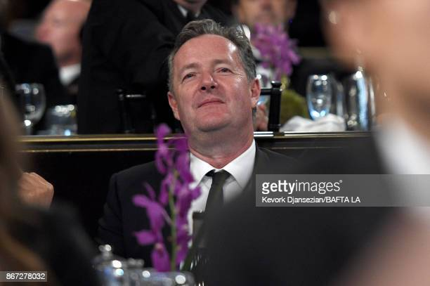 Piers Morgan at the 2017 AMD British Academy Britannia Awards Presented by American Airlines And Jaguar Land Rover at The Beverly Hilton Hotel on...