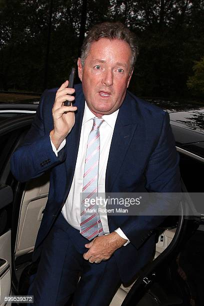 Piers Morgan attending the TV Choice Awards 2016 on September 5 2016 in London England