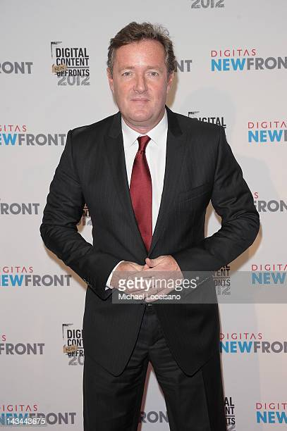 Piers Morgan attends Digitas & The Third Act Present NewFront 2012 on April 26, 2012 in New York City.