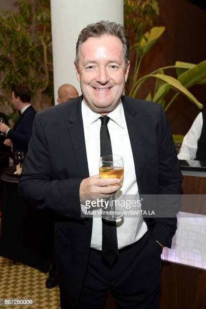 Piers Morgan attends the 2017 AMD British Academy Britannia Awards Presented by American Airlines And Jaguar Land Rover at The Beverly Hilton Hotel...