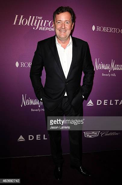 Piers Morgan attends the Hollywood Reporter's 3rd annual Academy Awards nominees night at Spago on February 2 2015 in Beverly Hills California