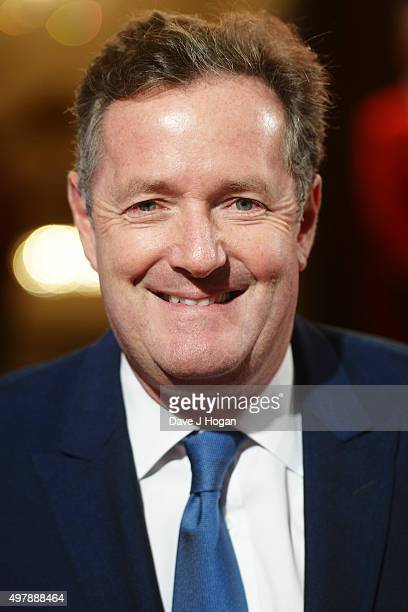 Piers Morgan attends the ITV Gala at London Palladium on November 19 2015 in London England