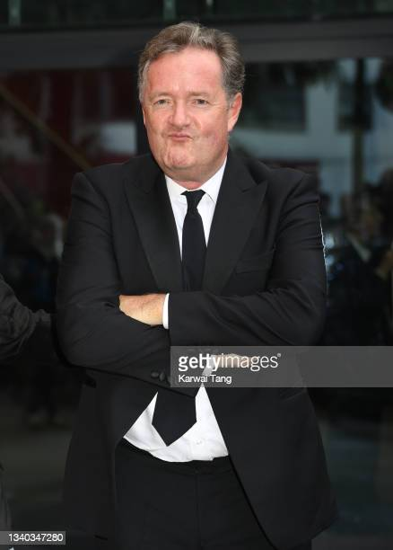 Piers Morgan attends the Sun's Who Cares Wins Awards 2021 at The Roundhouse on September 14, 2021 in London, England.
