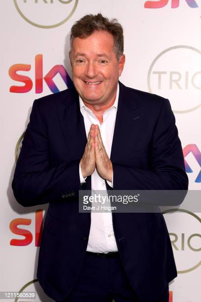 Piers Morgan attends the TRIC Awards 2020 at The Grosvenor House Hotel on March 10, 2020 in London, England.