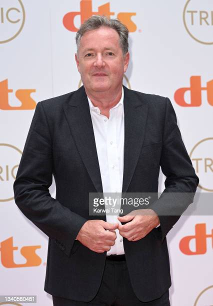 Piers Morgan attends The TRIC Awards 2021 at 8 Northumberland Avenue on September 15, 2021 in London, England.