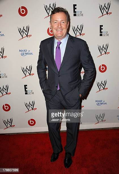 Piers Morgan attends the WWE SummerSlam VIP party at Beverly Hills Hotel on August 15, 2013 in Beverly Hills, California.