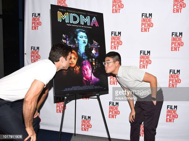 Pierson Fode and Scott Keiji Takeda attend Film Independent presents special screening of 'MDMA' at The WGA Theater on August 16 2018 in Beverly...