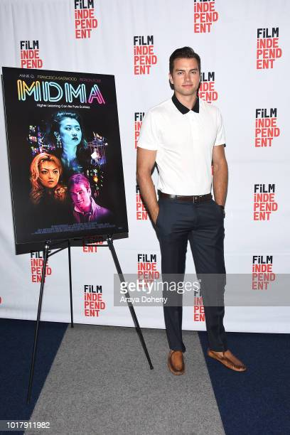Pierson Fode attend Film Independent presents special screening of 'MDMA' at The WGA Theater on August 16 2018 in Beverly Hills California
