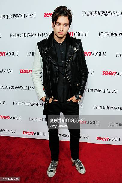 Pierson Fode attends Teen Vogue's 12th Annual Young Hollywood Issue Launch Party at a private residence on September 26 2014 in Los Angeles California