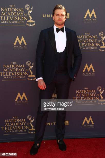 Pierson Fode attends the 44th Annual Daytime Emmy Awards at Pasadena Civic Auditorium on April 30 2017 in Pasadena California