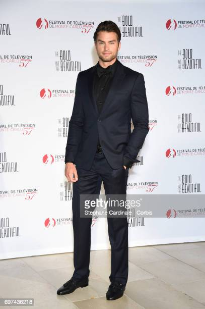 Pierson Fode attends the 'The Bold and The Beautiful' 30th Anniversary during the 57th Monte Carlo TV Festival Day 3 on June 18 2017 in MonteCarlo...