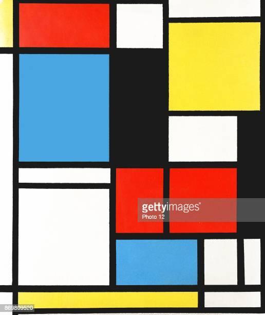 Piet Mondrian 'Composition in blue red and yellow' 1921 Pieter Cornelis ' Piet'