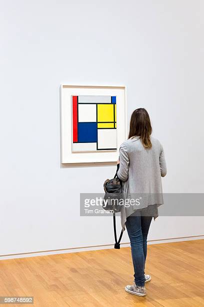 Piet Mondrian oil on canvas 1927 'COMPOSITION NO 111 WITH RED YELLOW AND BLUE' 20th Century Gallery Rijksmuseum Amsterdam